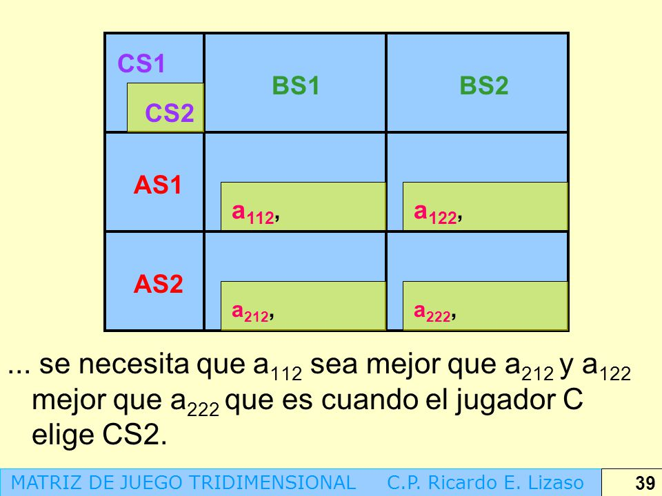 CS1 BS1. BS2. CS2. AS1. a112, a122, AS2. a212, a222,