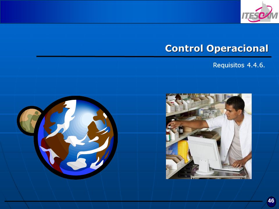 Control Operacional Requisitos 4.4.6.