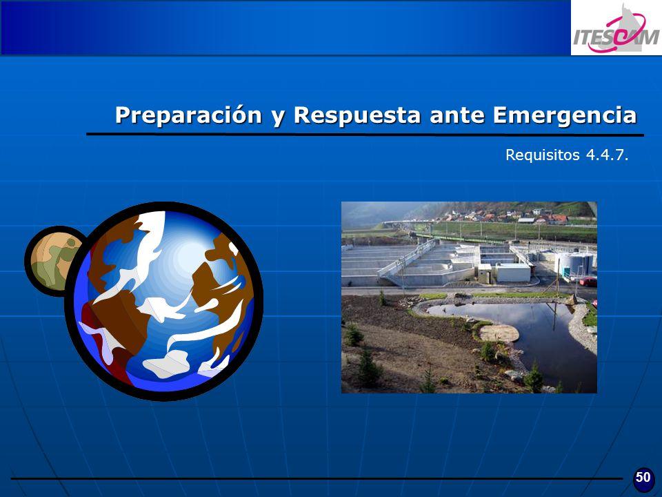 Preparación y Respuesta ante Emergencia