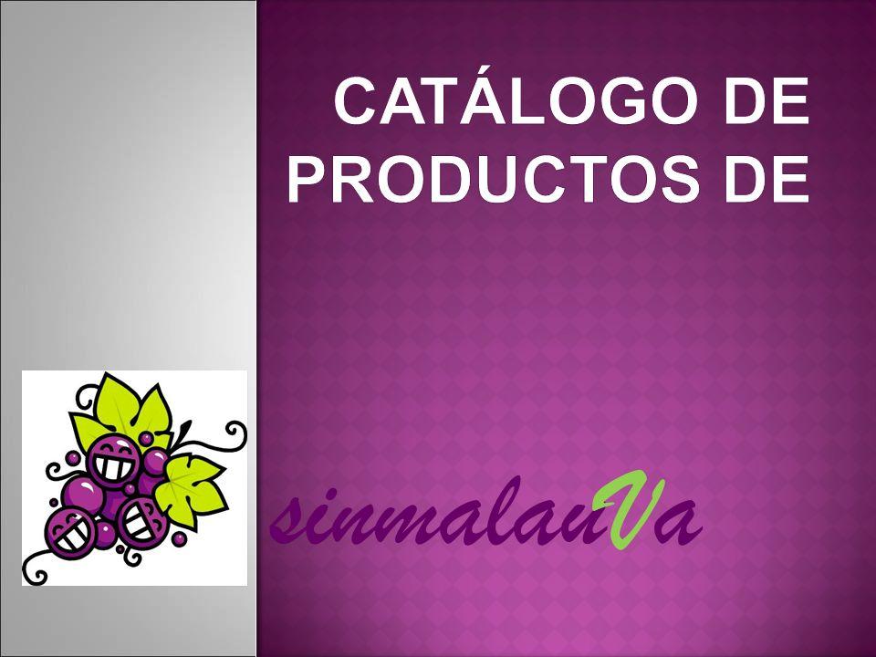 CATÁLOGO DE PRODUCTOS DE