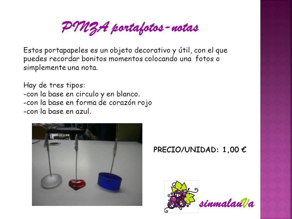 PINZA portafotos-notas