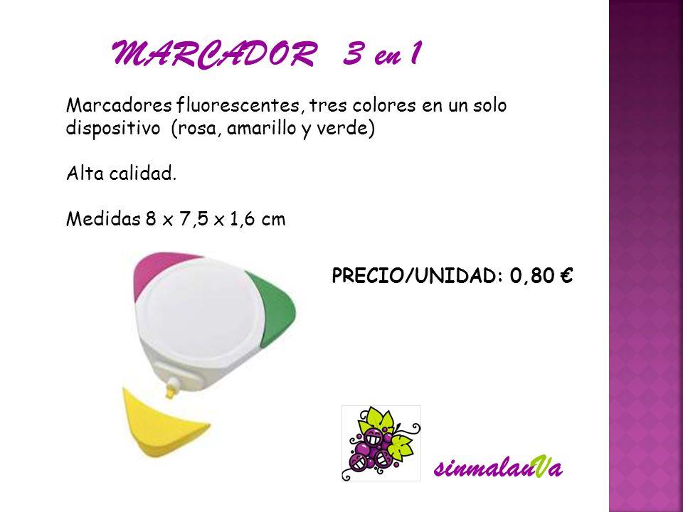 MARCADOR 3 en 1 sinmalauVa