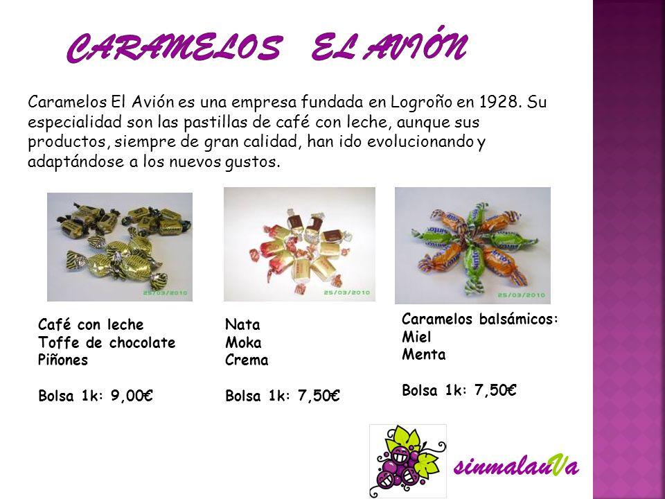 CARAMELOS EL AVIÓN sinmalauVa