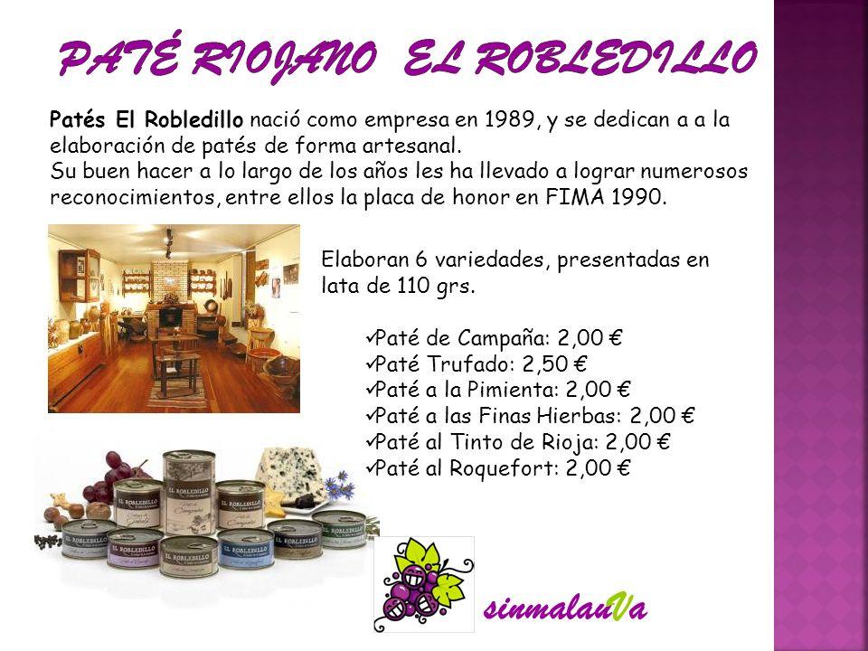 PATÉ RIOJANO El Robledillo