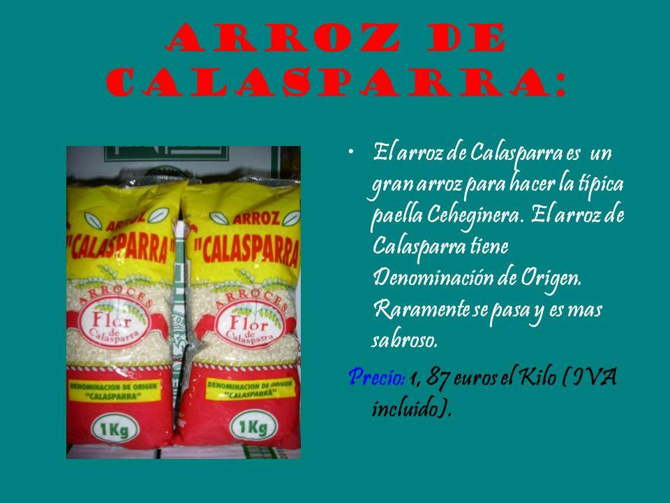 Arroz de Calasparra: