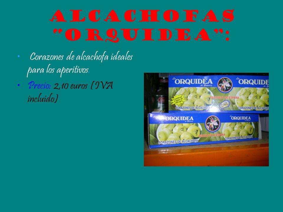 Alcachofas orquidea :