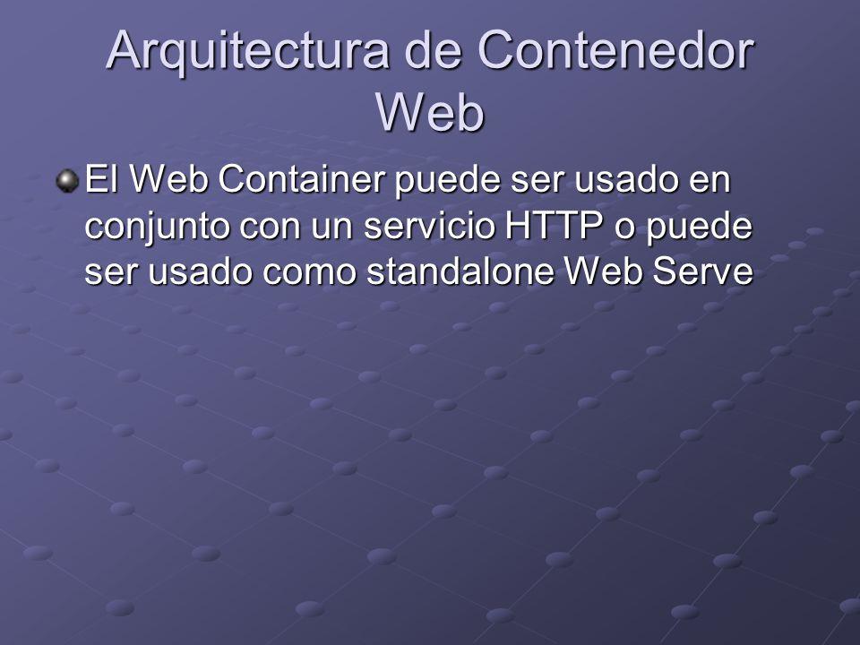 Arquitectura de Contenedor Web