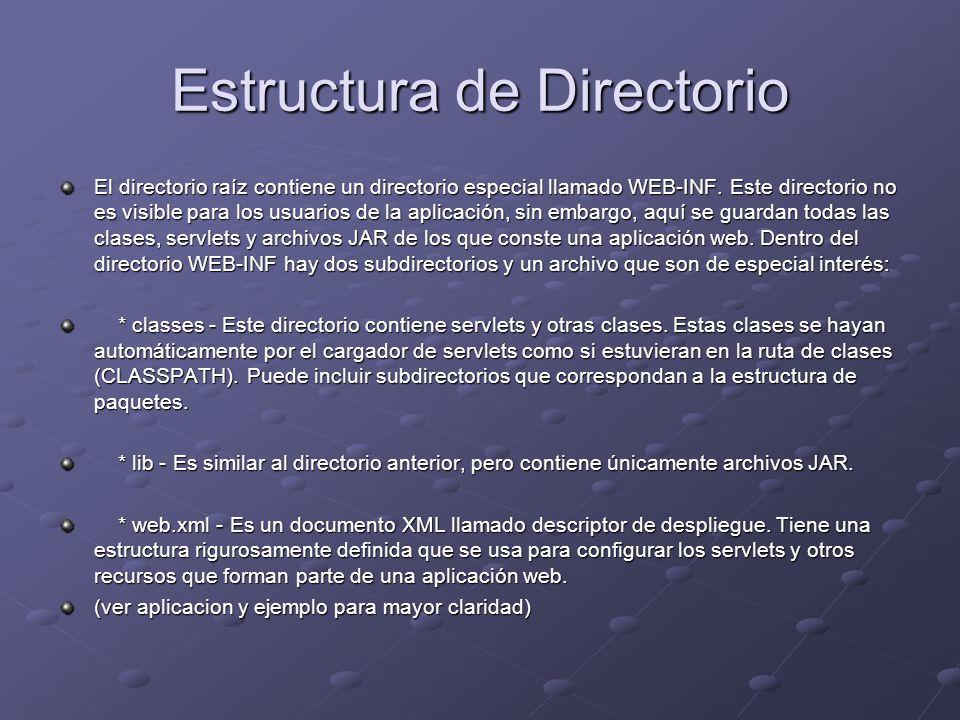 Estructura de Directorio