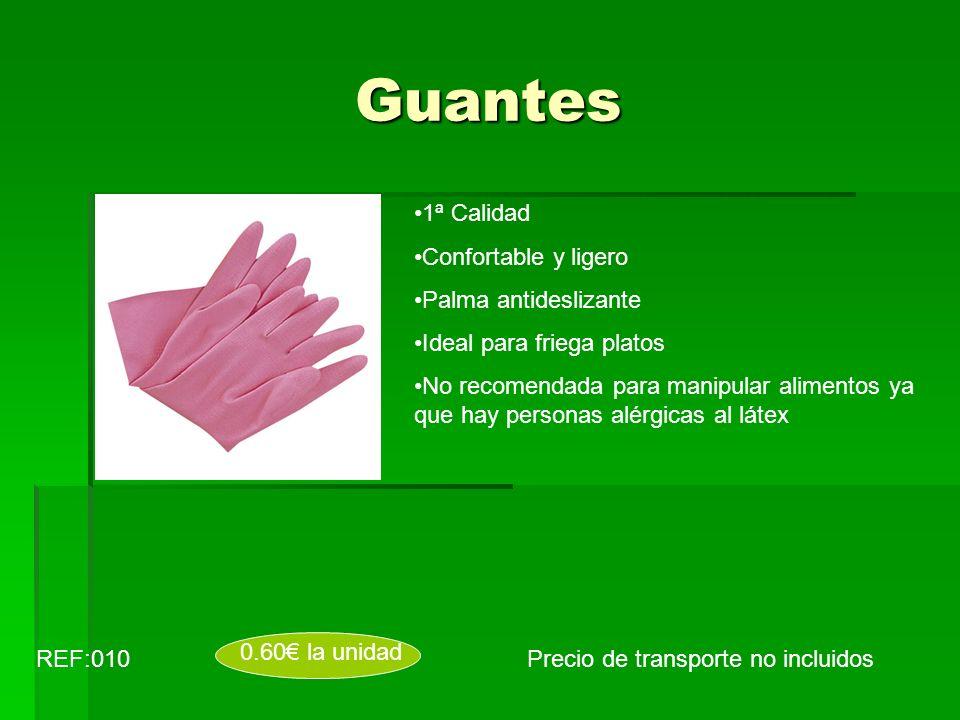 Guantes 1ª Calidad Confortable y ligero Palma antideslizante