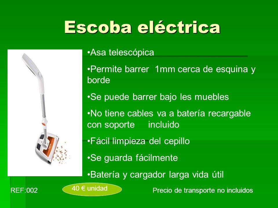 Escoba eléctrica Asa telescópica