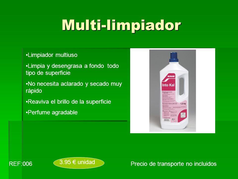 Multi-limpiador Limpiador multiuso