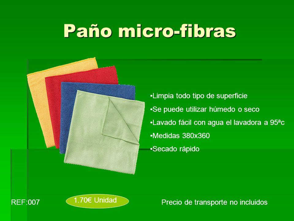 Paño micro-fibras Limpia todo tipo de superficie