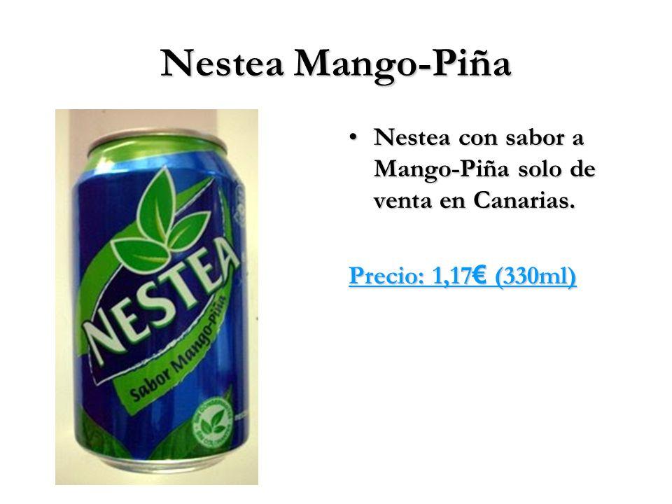 Nestea Mango-Piña Nestea con sabor a Mango-Piña solo de venta en Canarias. Precio: 1,17€ (330ml)