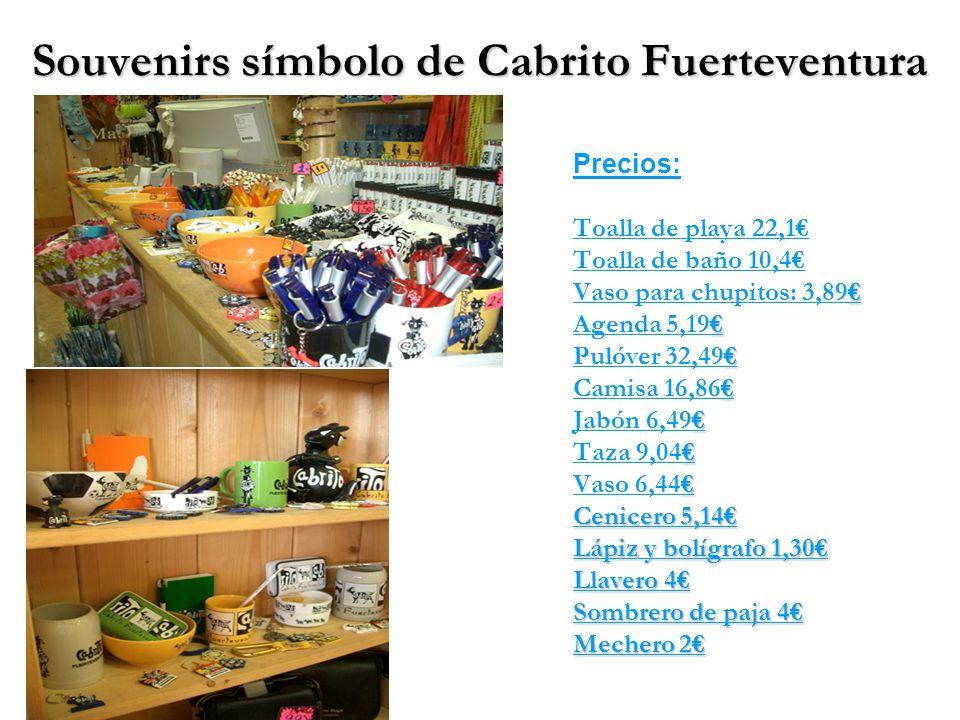 Souvenirs símbolo de Cabrito Fuerteventura