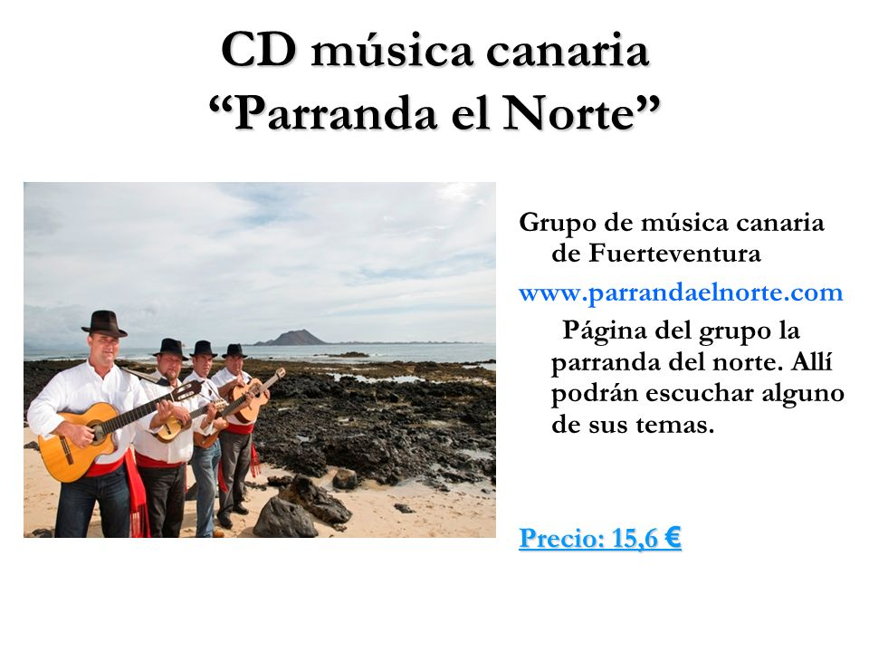 CD música canaria Parranda el Norte