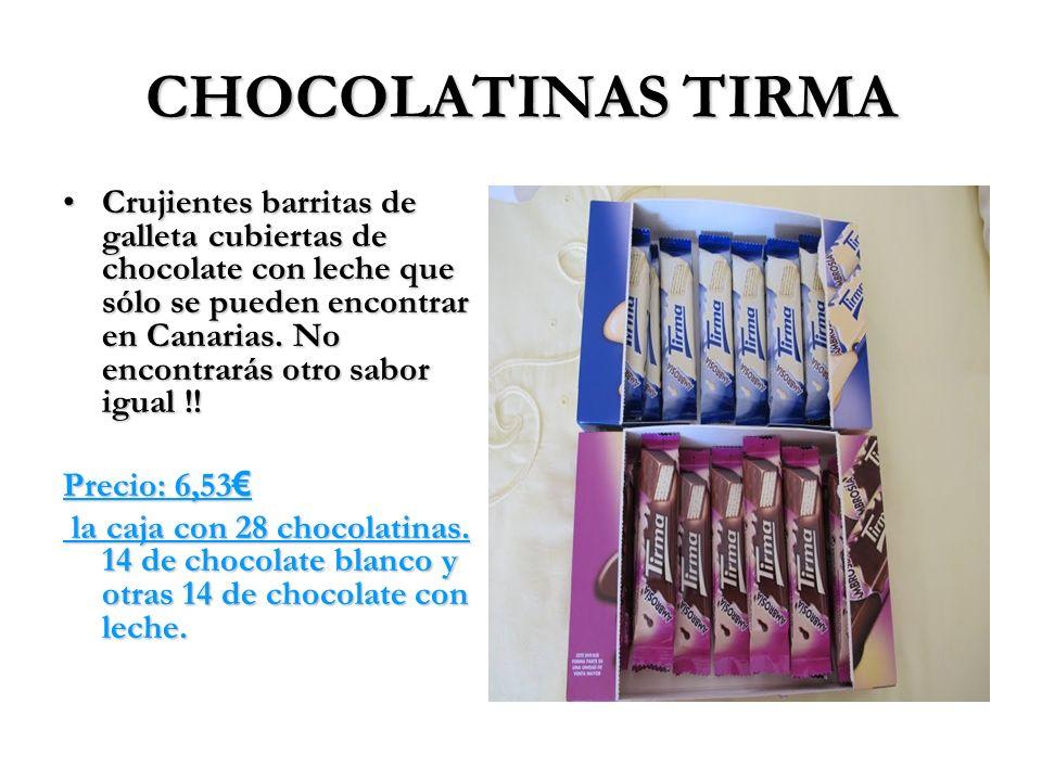 CHOCOLATINAS TIRMA