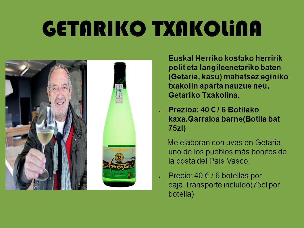 GETARIKO TXAKOLiNA
