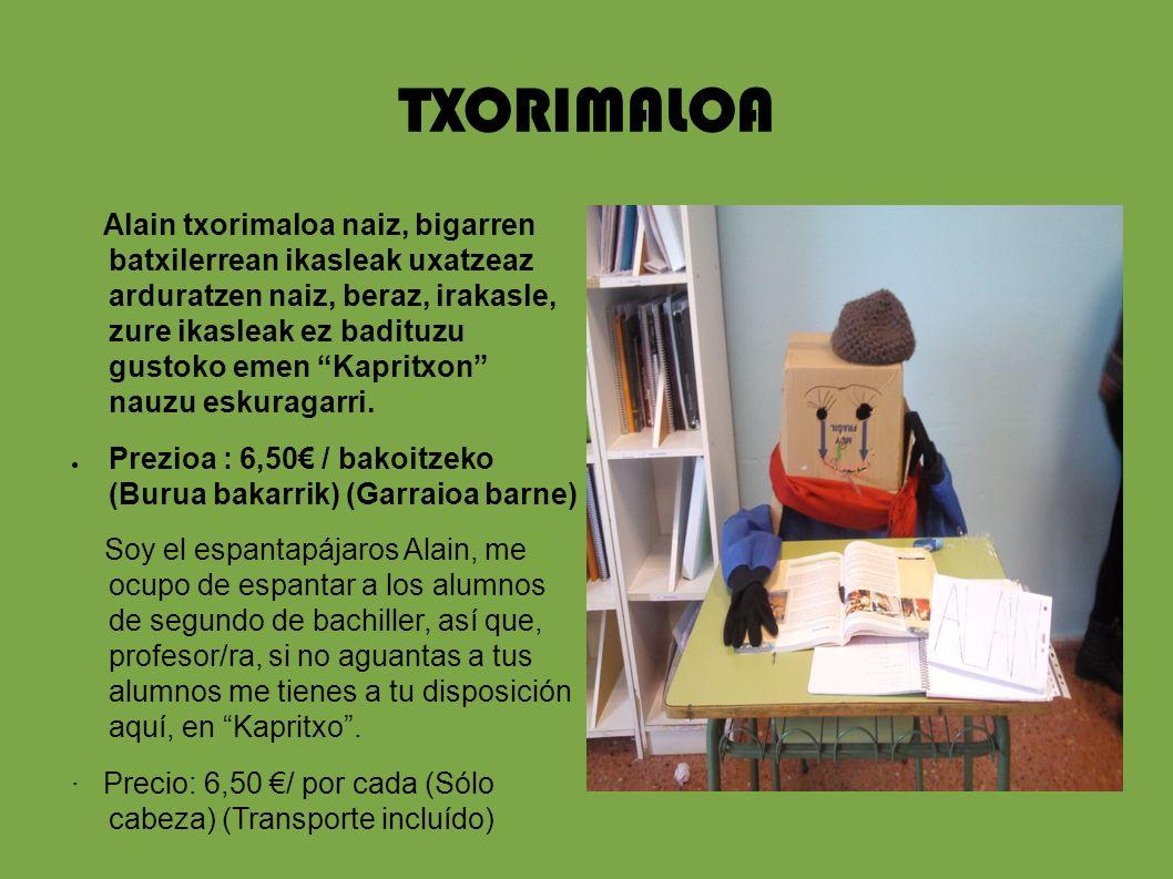 TXORIMALOA