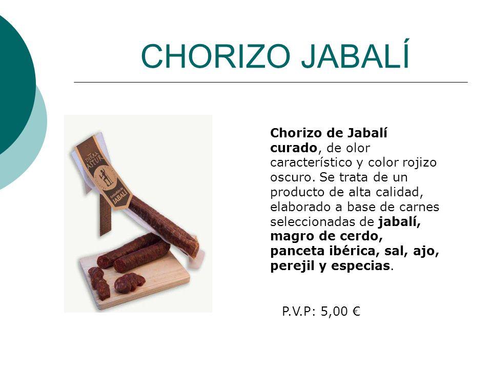 CHORIZO JABALÍ