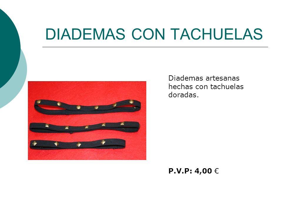 DIADEMAS CON TACHUELAS