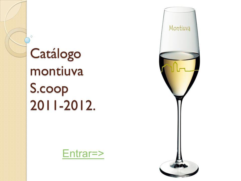 Catálogo montiuva S.coop 2011-2012.