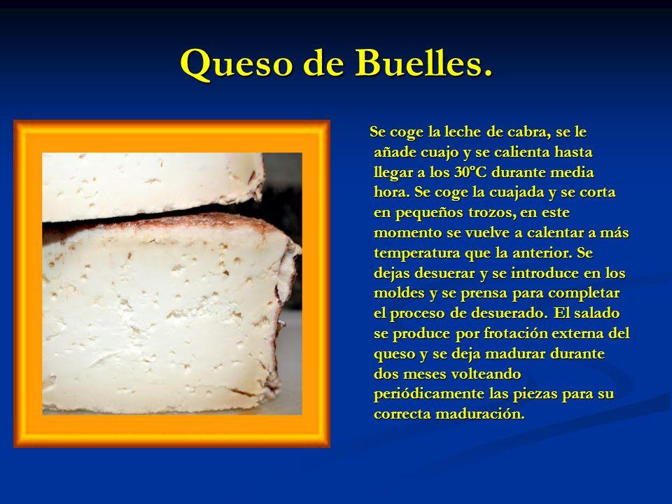 Queso de Buelles.