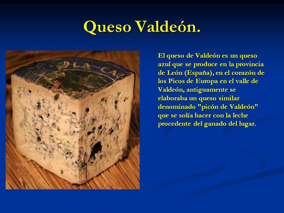 Queso Valdeón.