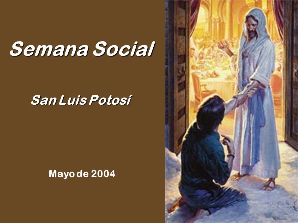 Semana Social San Luis Potosí