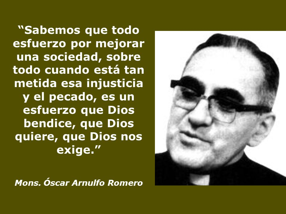Mons. Óscar Arnulfo Romero