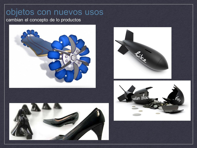 objetos con nuevos usos