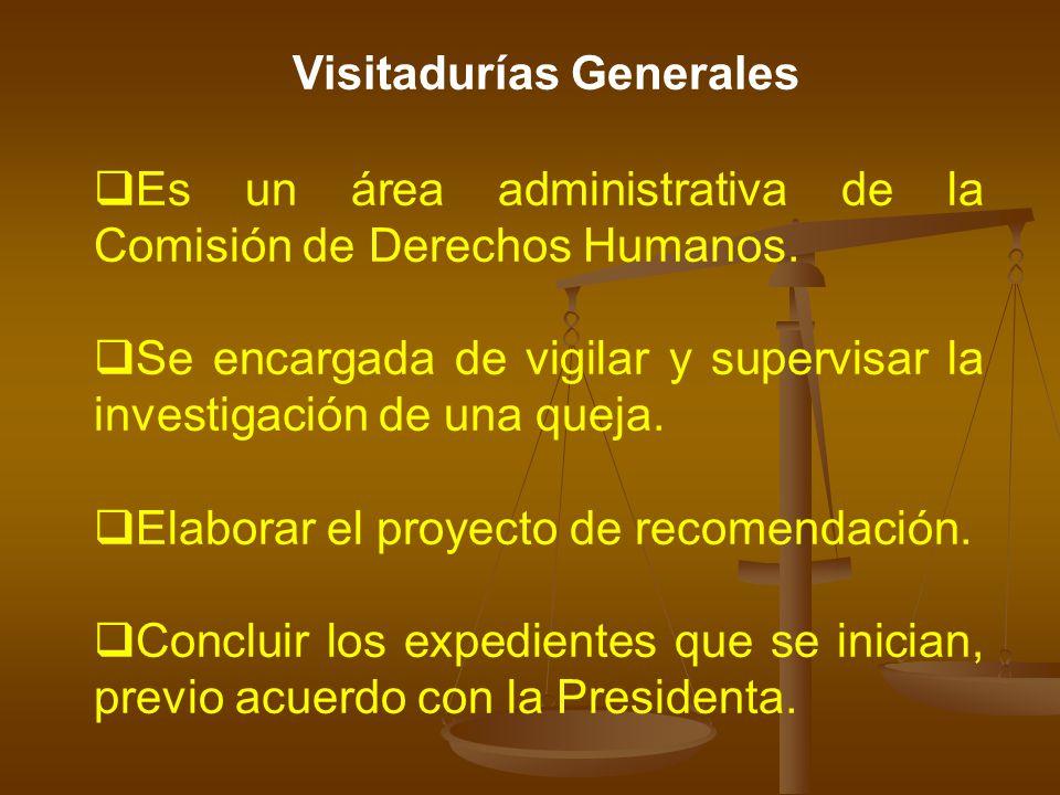 Visitadurías Generales