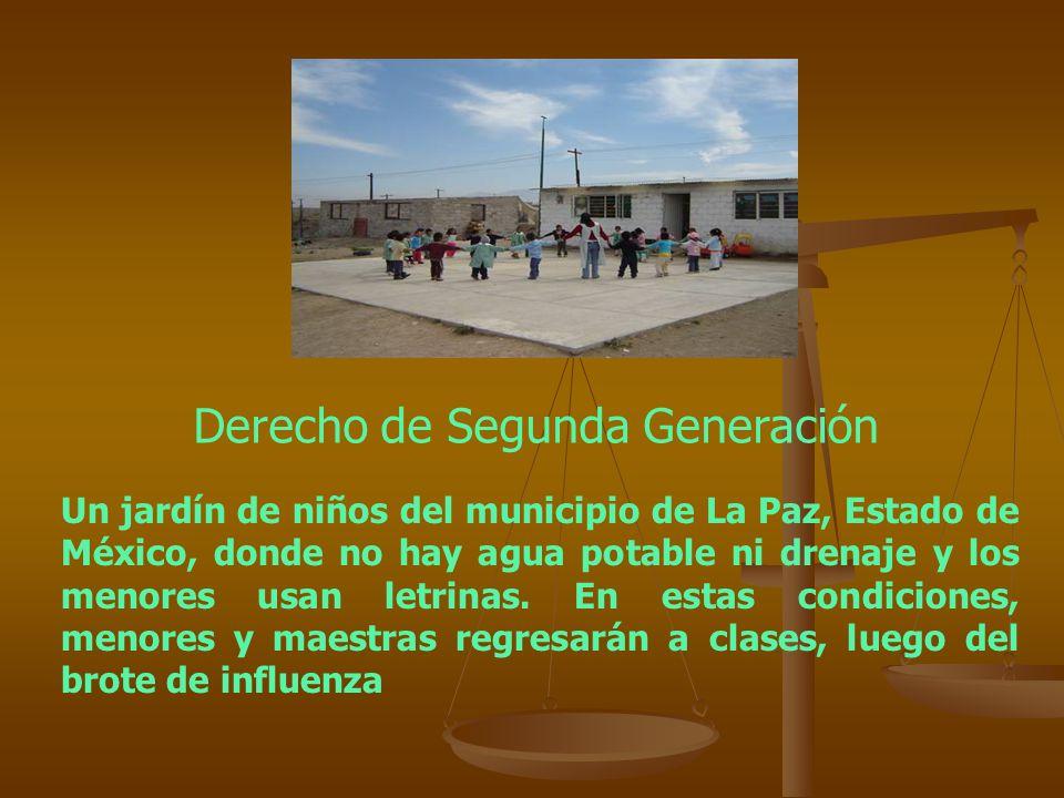 Derecho de Segunda Generación