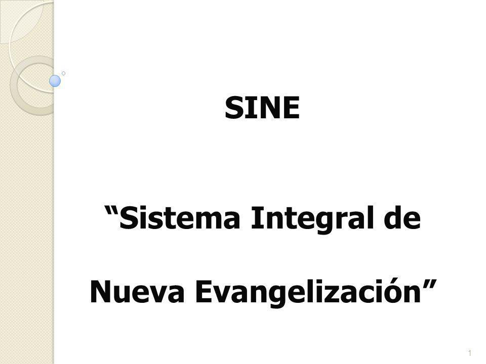 SINE Sistema Integral de Nueva Evangelización