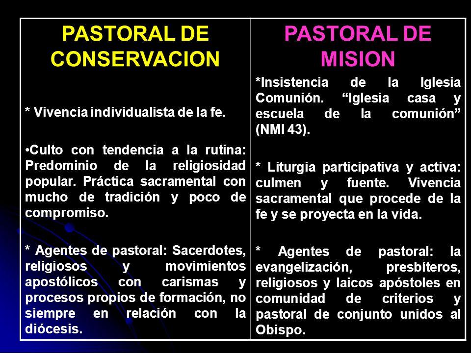 PASTORAL DE CONSERVACION