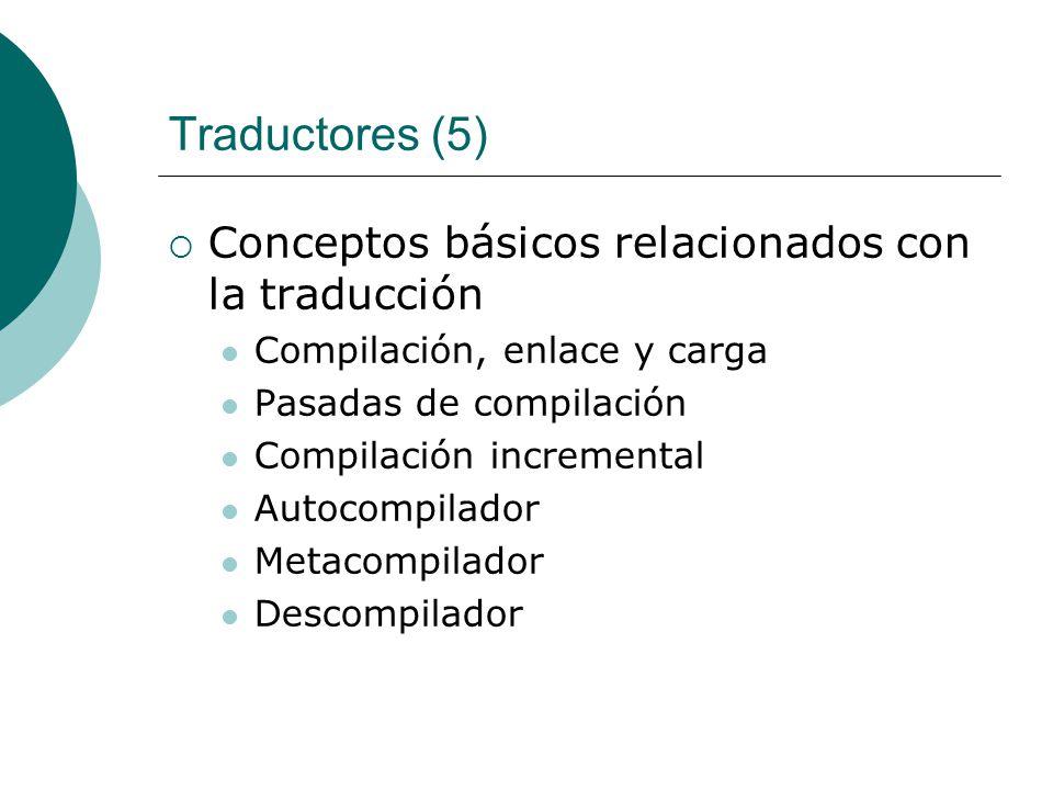 Traductores (5) Conceptos básicos relacionados con la traducción