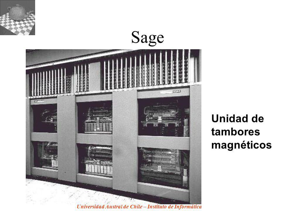 Sage Unidad de tambores magnéticos