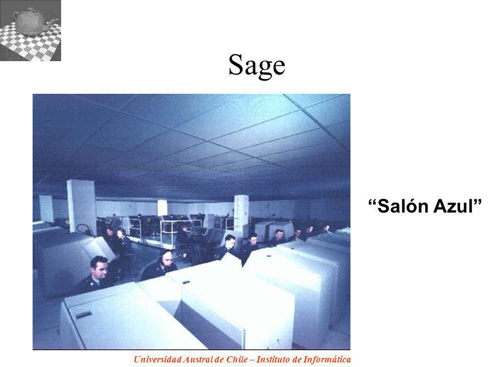 Sage Salón Azul