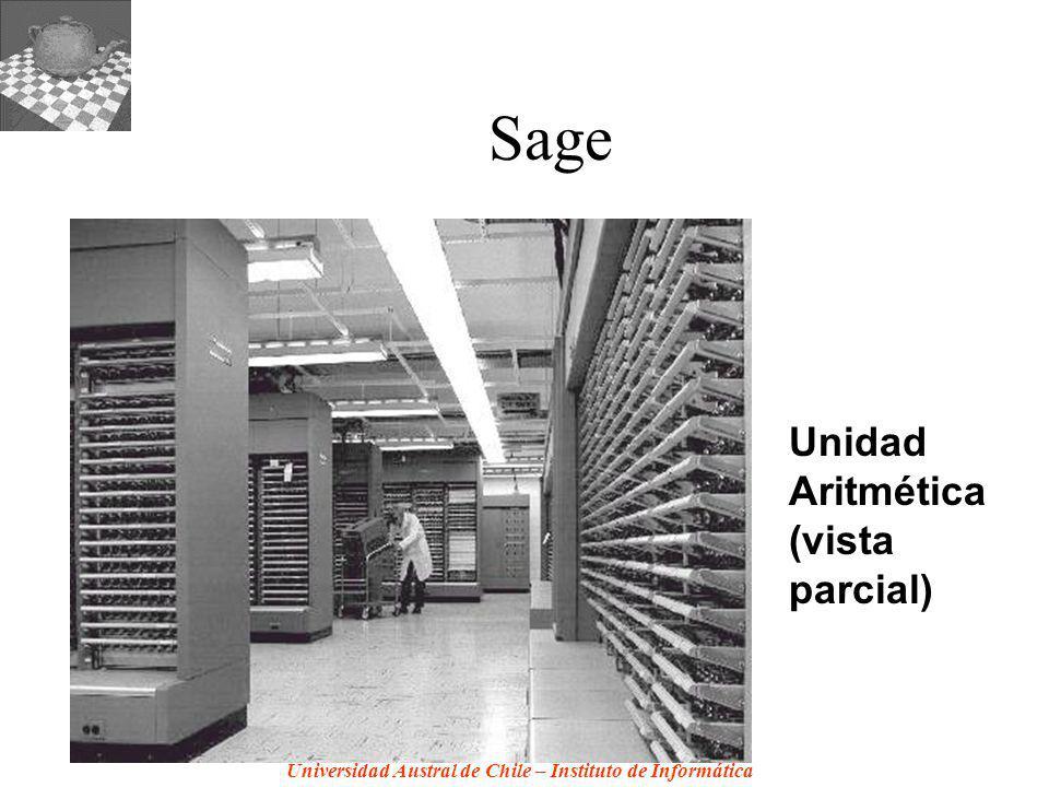 Sage Unidad Aritmética (vista parcial)