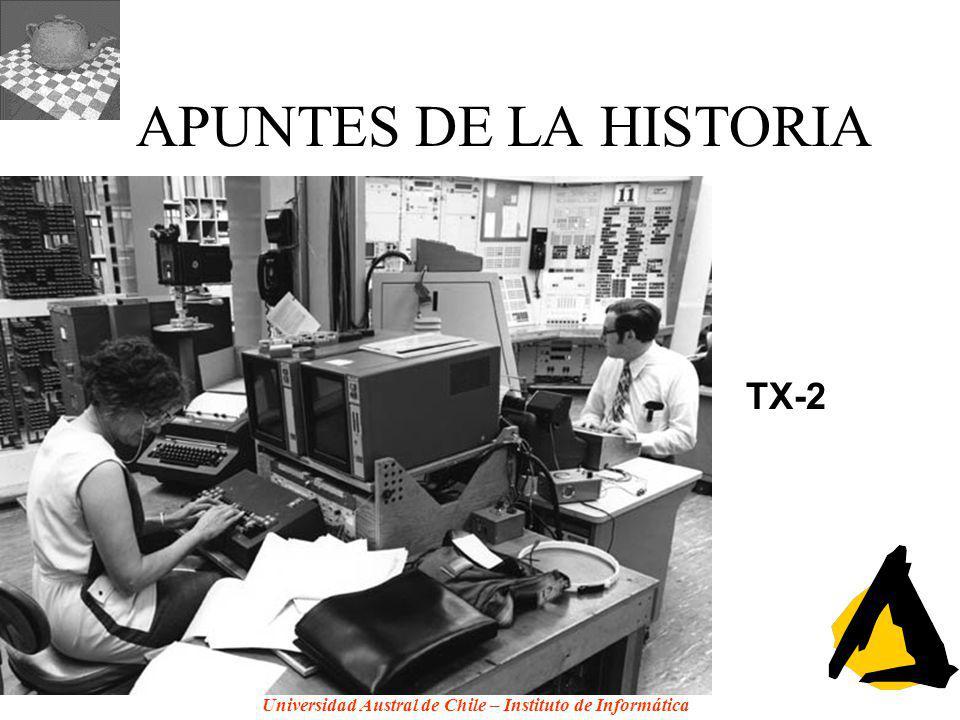 APUNTES DE LA HISTORIA TX-2