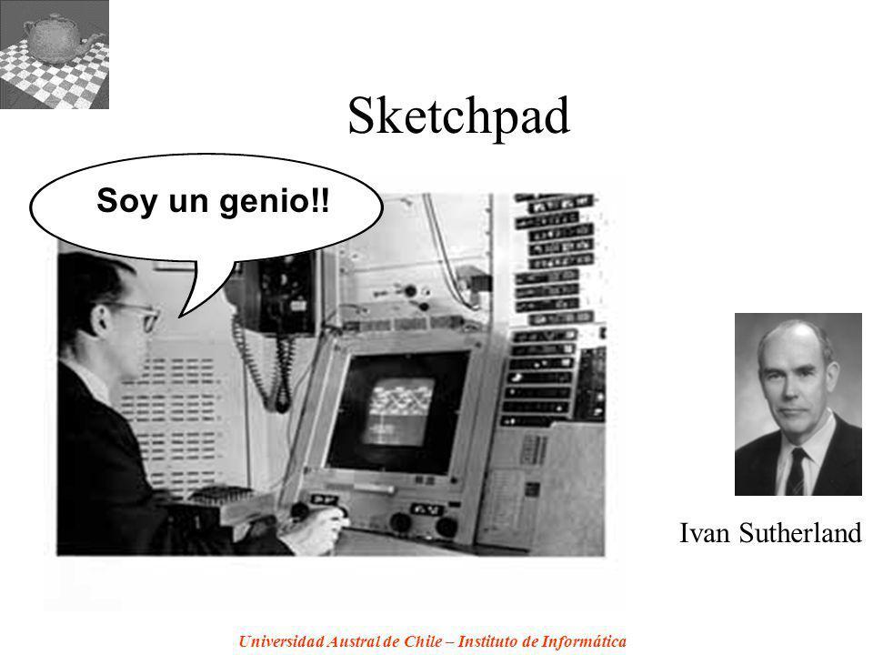 Sketchpad Soy un genio!! Ivan Sutherland