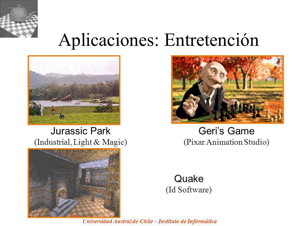 Aplicaciones: Entretención