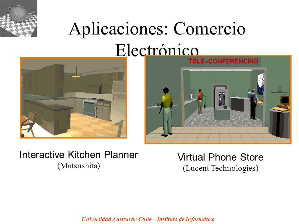 Aplicaciones: Comercio Electrónico