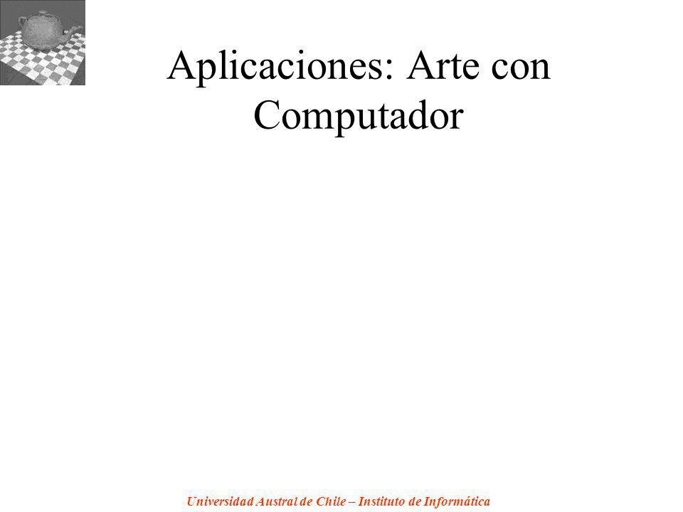 Aplicaciones: Arte con Computador