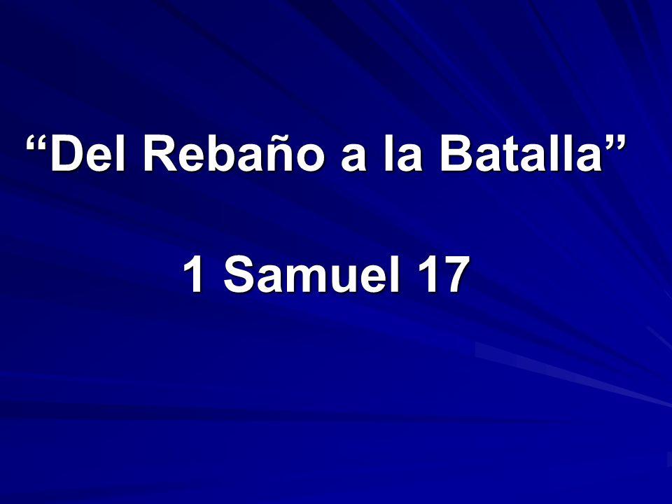 Del Rebaño a la Batalla 1 Samuel 17