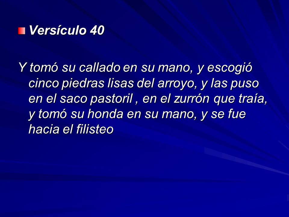 Versículo 40