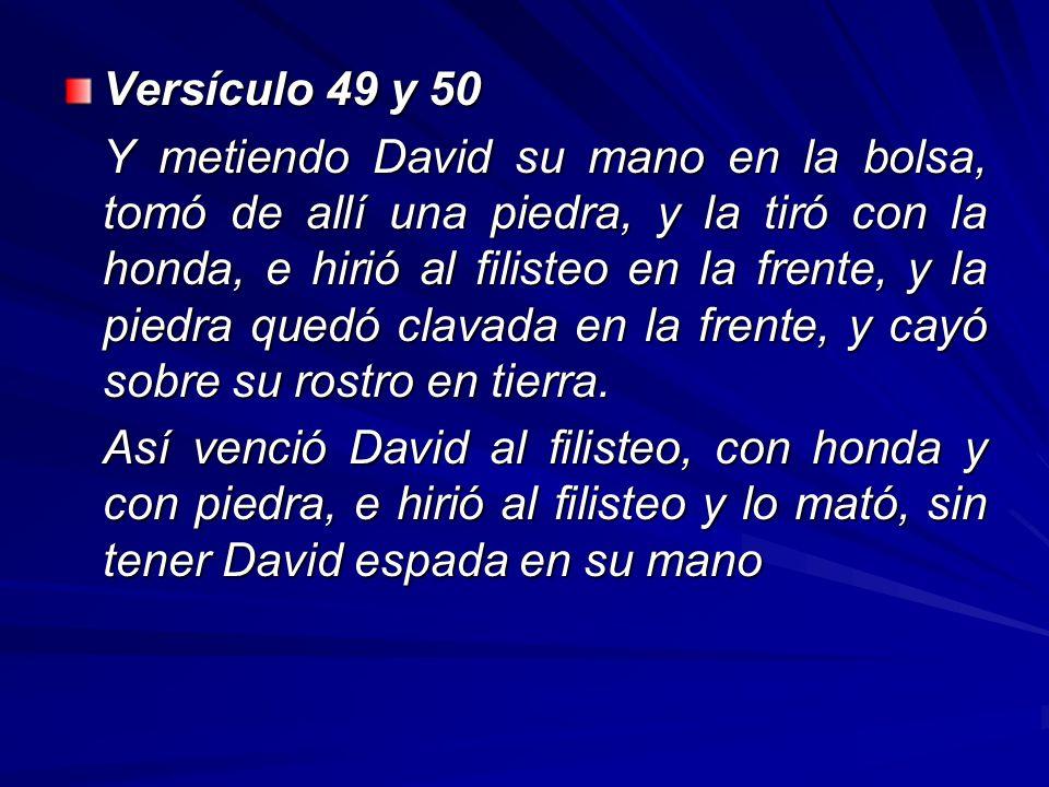 Versículo 49 y 50