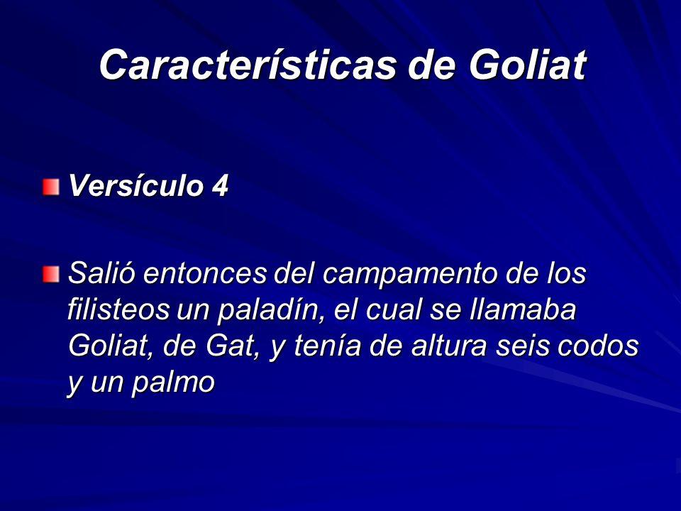 Características de Goliat