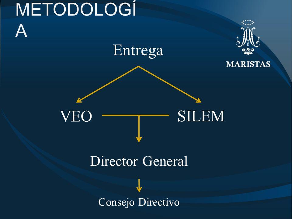 METODOLOGÍA Entrega VEO SILEM Director General Consejo Directivo
