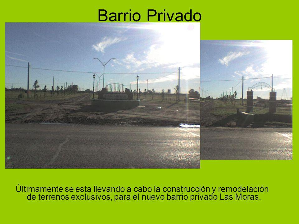 Barrio Privado Últimamente se esta llevando a cabo la construcción y remodelación de terrenos exclusivos, para el nuevo barrio privado Las Moras.