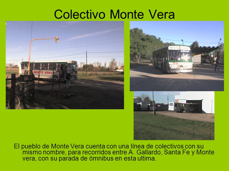 Colectivo Monte Vera